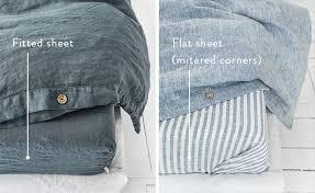 fitted sheet vs flat sheet vs top