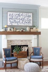 fall decorating mantel the lettered cottage house of belonging