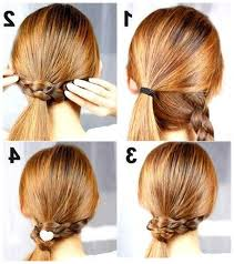 Hairstyle Yourself easy step by step hairstyles to do yourself simple step by step 5758 by stevesalt.us