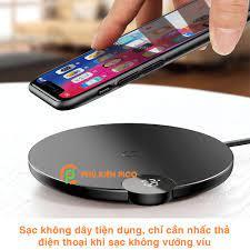 Đế sạc nhanh không dây Samsung Galaxy Note 20 / Samsung Note 20 Utra 15W  chính hãng Baseus chuẩn Qi – Cốc sạc Samsung giá cạnh tranh
