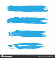 Light Blue Paint Vector Light Blue Brush Stroke Ink Vector Stains Acrylic Paint