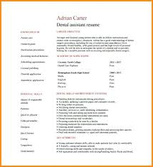 Sample Resume Pdf Dentist Resume Sample Dental Assistant Resume Free