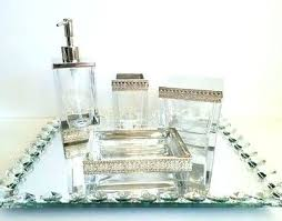 jar designs furniture. Brilliant Furniture Bella Lux Mirror Rhinestone Bathroom Accessories 4  Accessory Crystal Glass On Jar Designs Furniture D