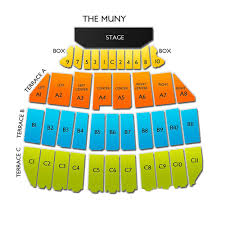 The Muny St Louis Mo Seating Chart The Muny 2019 Seating Chart