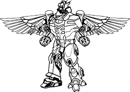 Small Picture Power Rangers Robot Coloring Page Wecoloringpage