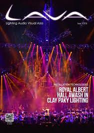 lighting audio visual asia vol 3 2016 by lighting audio visual asia issuu