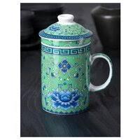 «<b>кружка заварочная LEFARD</b> 300мл с крышкой и ситом керамика ...