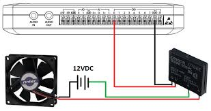 turn on a dc computer fan using a solid state relay mydaq and wiring instructions