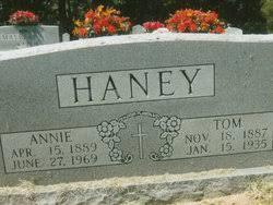 Annie Rawley Haney (1889-1969) - Find A Grave Memorial