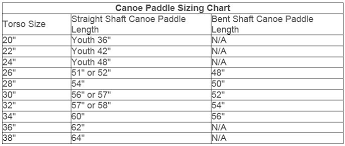 How To Size A Canoe Paddle Bending Branches