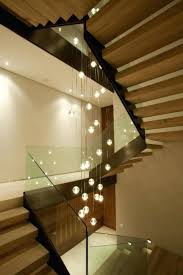 stair wall lights home interior indoor staircase lighting ideas stylish  stairway elegant modern decor with hanging