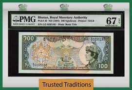 Bhutan - Currency for sale on Collectors Corner