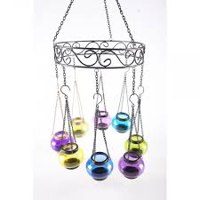 coloured tea light chandelier blank frame
