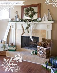 Christmas Mantel Decorating Ideas Lettered Cottage 5