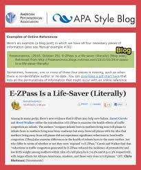Learn How To Cite Tumblr Or Any Other Blog Using The Apa Style