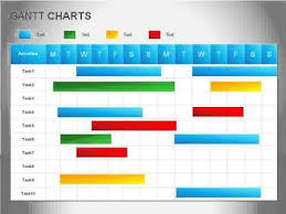 Gantt Chart Youtube Powerpoint Diagrams Videos Gantt