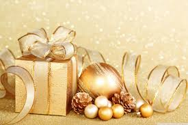 silver and gold christmas wallpaper. Brilliant Silver Christmas Gift HD Desktop  In Silver And Gold Wallpaper L