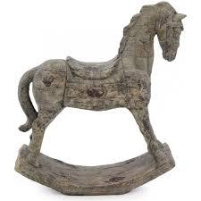 holiday rocking horse decoration
