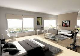 View in gallery Bachelor pad bedroom design idea for small studio apartments