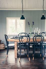 gray painted dining room table. a lovely swedish country cottage \u0026 garden (style-files.com). black kitchen chairsblack dinning room tablechairs for dining gray painted table