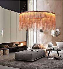 Postmodern designer <b>Round Pendant Lights Nordic</b> tassel ...