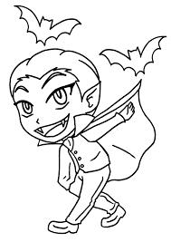 Coloriage Petit Gar On Vampire Imprimer Sur Coloriages Info