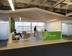 good office design.  good zendesk u2013 madison offices  office designs gray carpet and reception desks throughout good design u