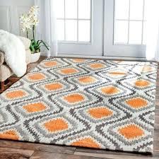 orange and gray area rug photo 1 of 5 wonderful best orange rugs ideas on