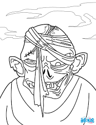 Small Picture Zombie head coloring pages Hellokidscom