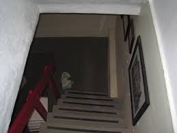basement stairs looking down.  Down Here Are Pictures From The Corner Looking Into Basement With Basement Stairs Looking Down