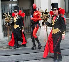 Great File Black And Red Costumes Mardi Gras In Jackson Square Jpg