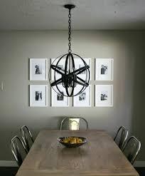 diy orb chandelier black crystal orb chandelier home decorations interior design designer idea modern dining room diy orb chandelier