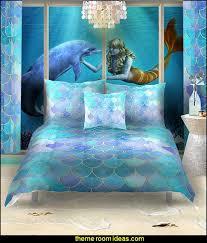 mermaid bedrooms mermaid bedding ocean floor mural underwater bedroom ideas mermaid bedroom decor under