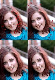 photo tutorial professional make up and face slimming
