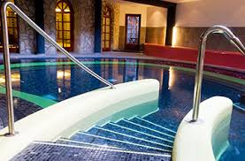 indoor pool and hot tub with a slide. Swimming Pool Accessories Indoor And Hot Tub With A Slide
