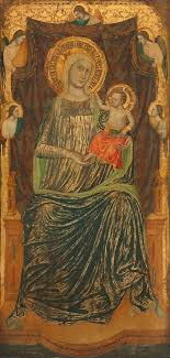 6 master of the life of saint john the baptist madonna and child with angels