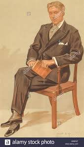 VANITY FAIR SPY CARTOON. George Alexander 'Aubrey Tanqueray' Stock ...