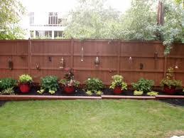 Outdoor Landscape - Backyard Fence traditional-landscape