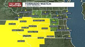 TORNADO WATCH issued for parts of ...