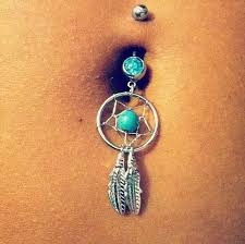 Dream Catcher Belly Button Rings Cute dream catcher belly button ring Jewels Pinterest Belly 7