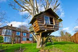 We typically picture a treehouse as an excellent escape for children to  play and grow their imaginations. In recent years, however, these  structures have ...