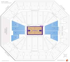 Golden One Seating Chart With Rows Sacramento Kings Seating Guide Golden 1 Center