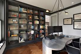 At home office Apartment 18 Exceptional Industrial Home Office Designs That Will Boost Your Productivity At Home Architecture Art Designs 18 Exceptional Industrial Home Office Designs That Will Boost Your