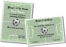 Free Soccer Certificate Templates Soccer Certificate Templates