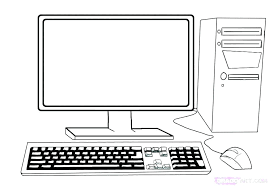 Computer Coloring Games H5187 Kid Paint Coloring Pages Computer