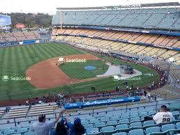 Dodger Stadium Reserve 39 Seat Views Seatgeek