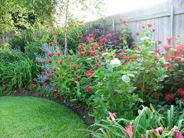 Small Picture Beautiful perennial bed Love the color texture and flow Lots