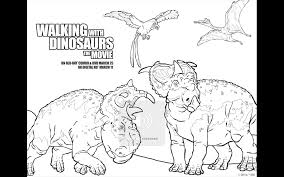 Walking with Dinosaurs Free Printable Coloring Pages and DVD ...