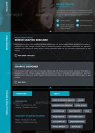 Graphic Design Resumes Adorable 60 Best Resume For Graphic Designers PSD Ideas With Examples