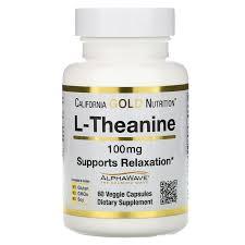 California Gold Nutrition, <b>L</b>-<b>теанин</b>, AlphaWave, таблетки для ...